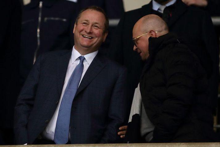 Mike Ashley, eigandi Newcastle United, er ekki vinsæll meðal stuðningsmanna félagsins sem haga lengi viljað losna við hann.