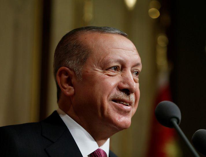 Erdogan er enn kokhraustur.