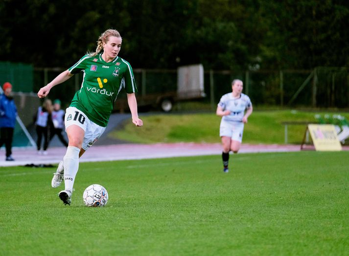 Berglind Björg Þorvaldsdóttir stefnir á gullskóinn í haust