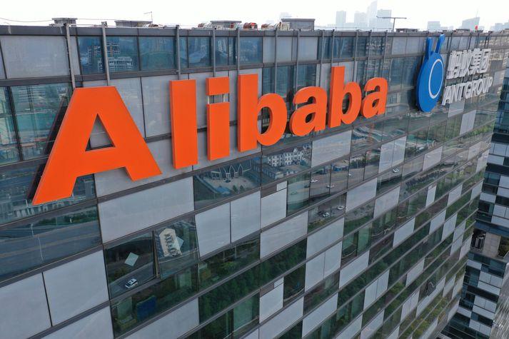 Alibaba er eitt umsvifamesta netverslunarfyrirtæki heims.