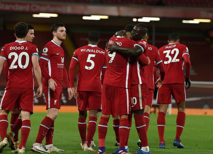 Liverpool sýndi allar sínar bestu hliðar gegn Leicester City í gær.