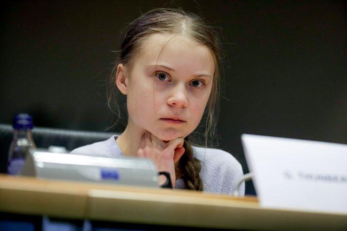 Greta Thunberg er verulega ósátt við aðgerðaleysi í loftslagsmálum.