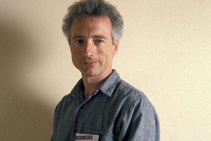 Tesler á PC-ráðstefnunni árið 1989.