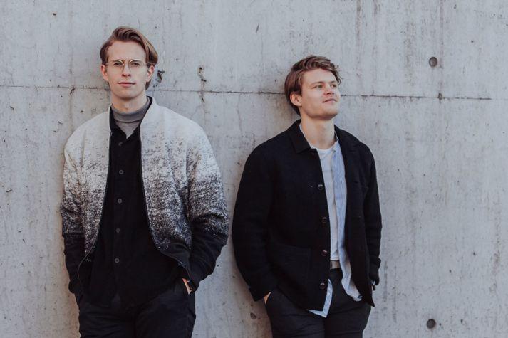 Kjartan Þórisson, stofnandi Noona og Jón Hilmar Karlsson, framkvæmdastjóri.