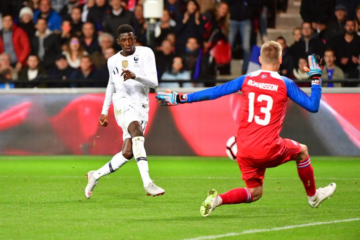 Rúnar ver frá Ousmane Dembélé
