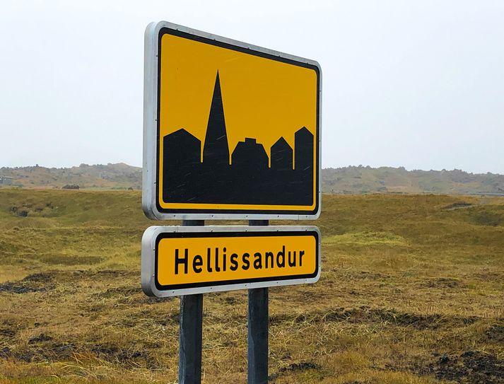 Slysið varð á Hellissandi.
