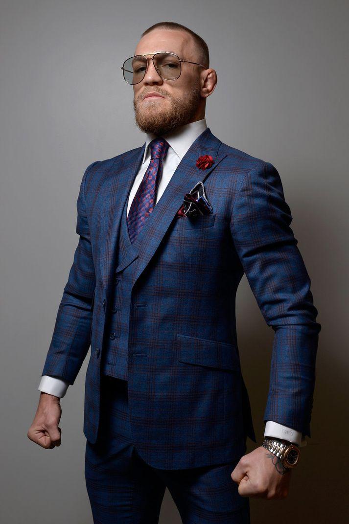 Conor McGregor er íslendingum að góðu kunnur enda æfir hann oft hér með Gunnari Nelson.