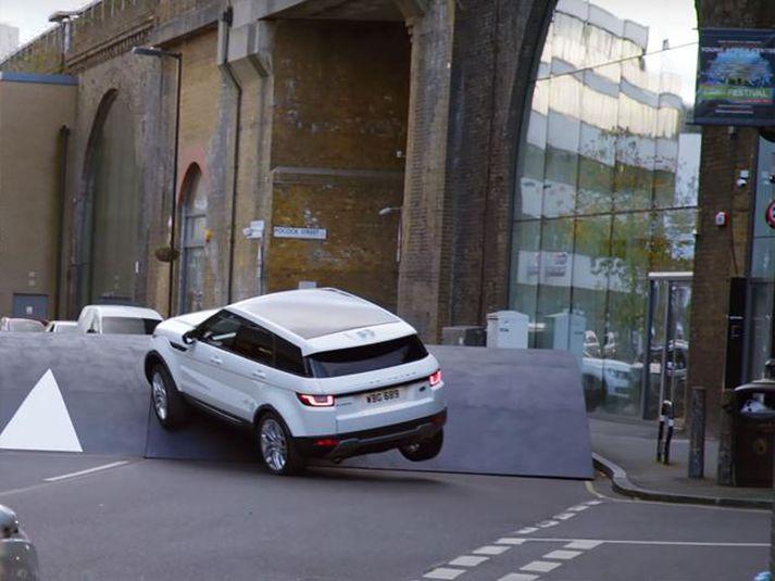 Range Rover Evoque er enn af fyrstu kynslóð, en fékk andlitslyftingu árið 2014.