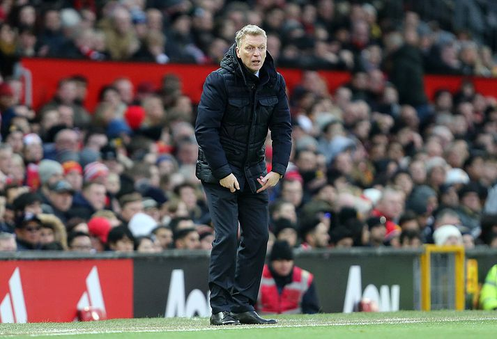 David Moyes á Old Trafford