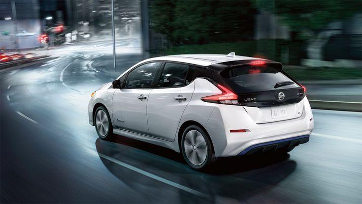 Ný kynslóð Nissan Leaf er þegar til sölu í Japan og brátt í Bandaríkjunum og Evrópu.