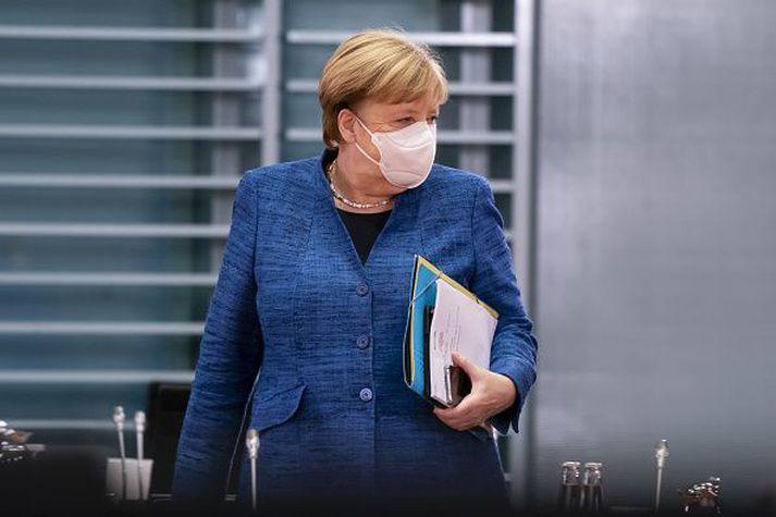 Merkel kanslari vill herða verulega á takmörkunum í landinu til að bregðast við mikilli aukningu smita.