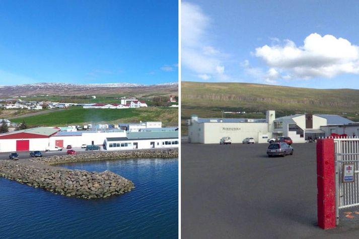 Húsnæði Kjarnafæðis á Svalbarðseyri og Norðlenska á Akureyri.