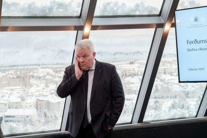Sigurður Ingi Jóhannsson, samgönguráðherra.