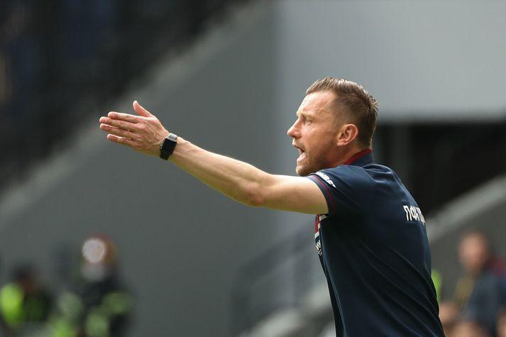 Ivica Olic er hættur sem þjálfari CSKA Moskvu.