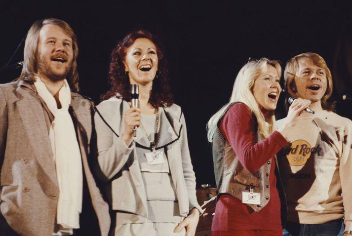 Vinsældir ABBA eru ótrúlegar. Nú fá aðdáendur hugsanlega nýja tónlist í fyrsta sinn í 39 ár.