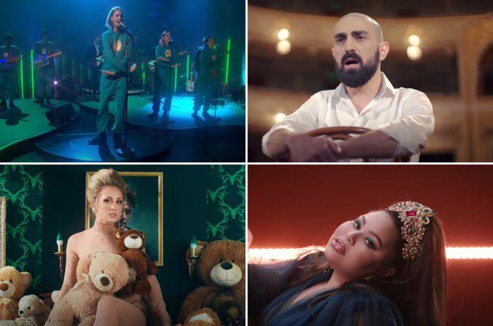Eurovision byrjar 18. maí.