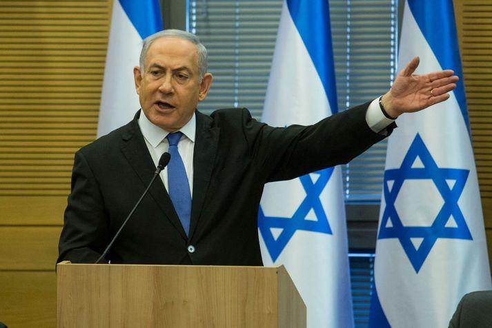 Benjamín Netanjahú hefur gegnt embætti forsætisráðherra Ísraels frá árinu 2009. Áður gegndi hann embættinu á árunum 1996 til 1999.