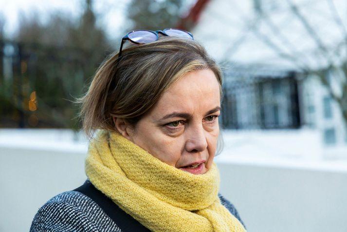 Svandís Svavarsdóttir heilbrigðisráðherra