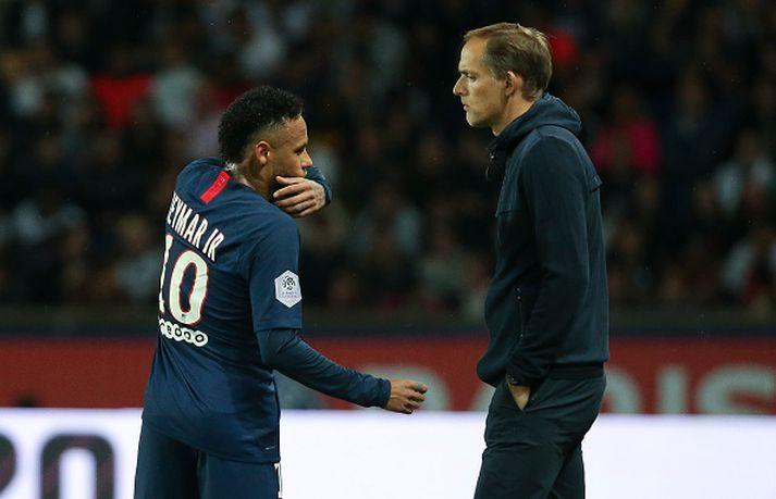 Tuchel leist ekki vel á ferð Neymar til Madríd í landsleikjahléinu.