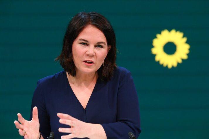Annalena Baerbock tók við sem annar leiðtogi Græningja í ársbyrjun 2018.