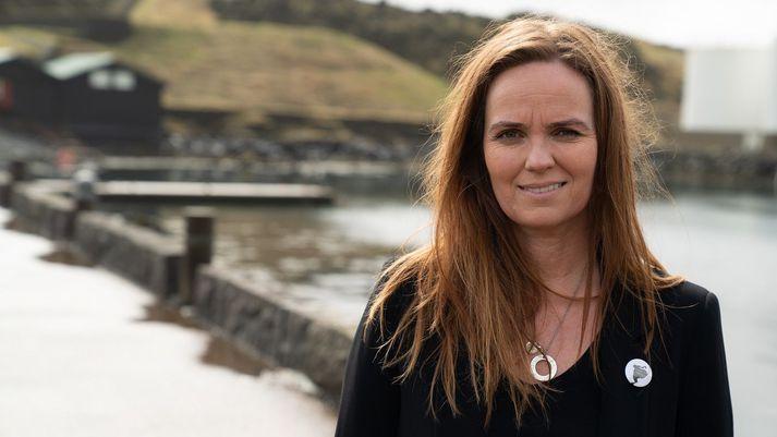 Íris Róbertsdóttir er bæjarstjóri í Eyjum.