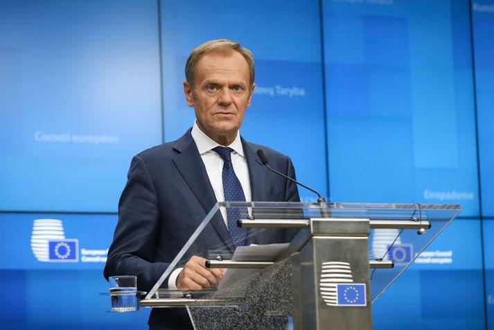 Donald Tusk, forseti leiðtogaráðs Evrópusambandsins.