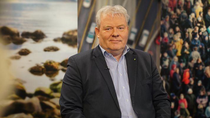 Sigurður Ingi Jóhannsson, samgöngu- og sveitarstjórnarráðherra í Víglínunni í dag.