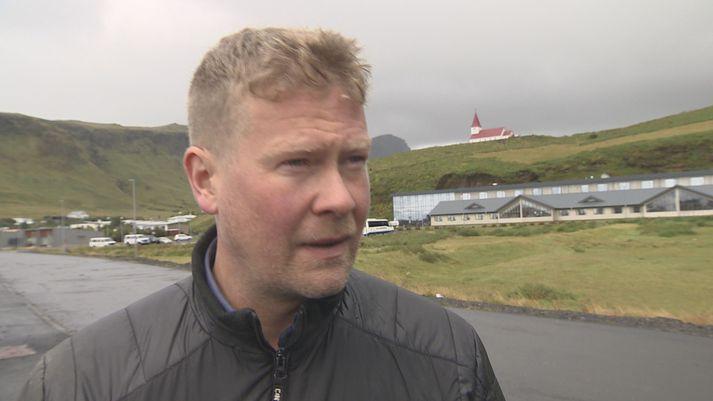 Elías Guðmundsson, hótel- og veitingahúsaeigandi í Vík.