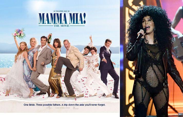 Cher tekur þátt í framhaldinu af kvikmyndinni Mamma Mia!