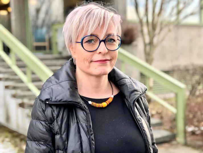 Kristín Jónsdóttir, náttúruvársérfræðingur hjá Veðurstofunni.