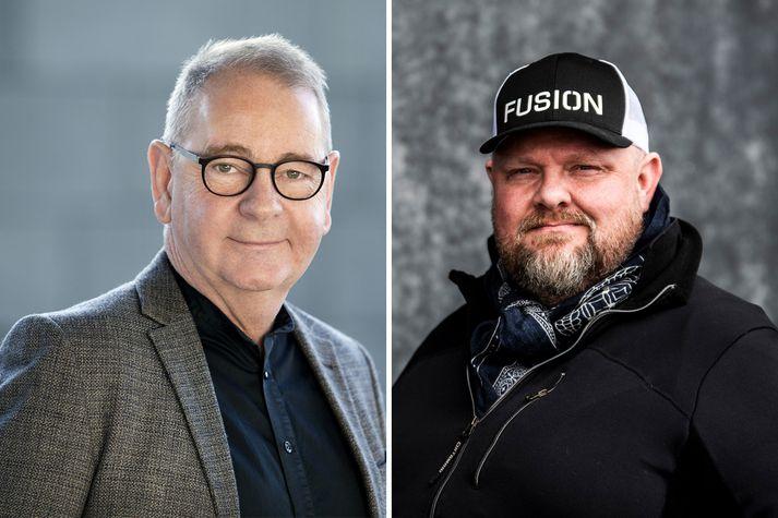 Bjarni Bjarnason, forstjóri Orkuveitunnar, og Einar Bárðarson.