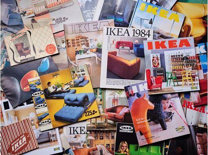 Fyrsti IKEA-bækingurinn kom út árið 1951.