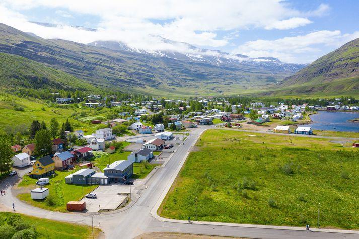 Maðurinn hóf för sína á Seyðisfirði.