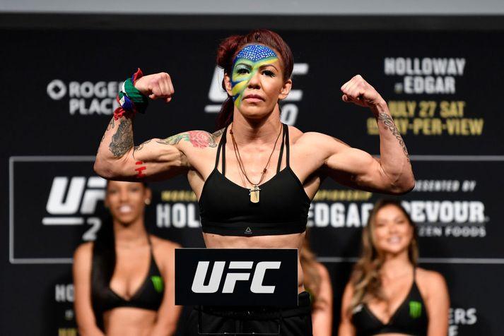 Cyborg fyrir sinn síðasta bardaga hjá UFC.