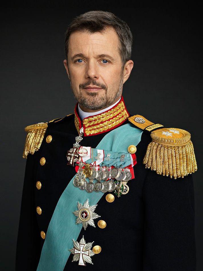 Friðrik krónprins Dana.