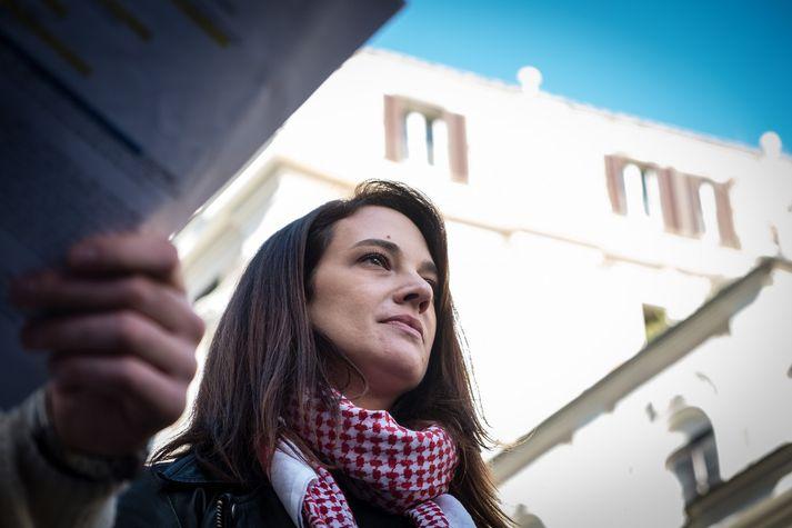 Aria Argento.