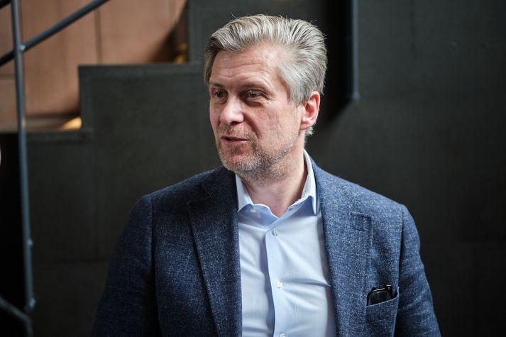 Eyþór Arnalds var á meðal gesta Þóris Guðmundssonar í Víglínunni í dag.