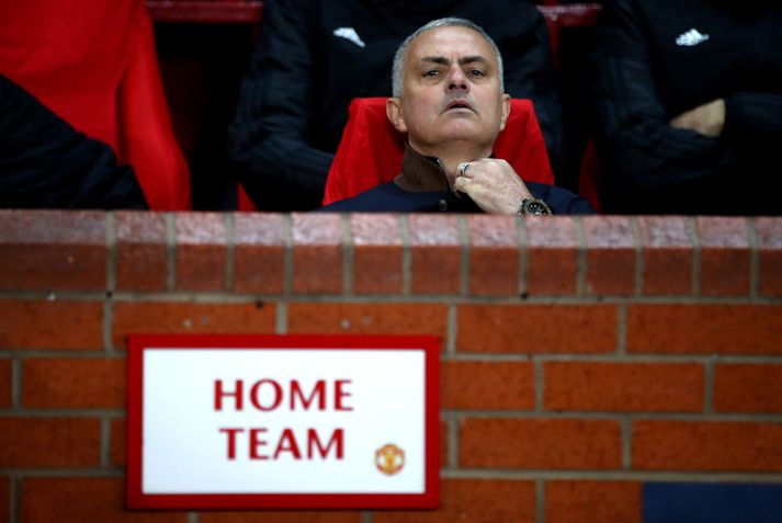 Jose Mourinho var rekinn frá Manchester United í desember