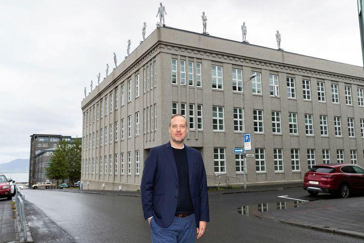 Sverrir Jónsson skrifstofustjóri kjara- og mannauðstefnu ríkisins, Fjármálaráðuneytinu Arnarhvoli