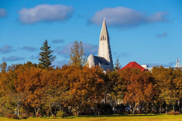 Búast má við hægum vindum og skúrum eða slydduél á víð og dreif.