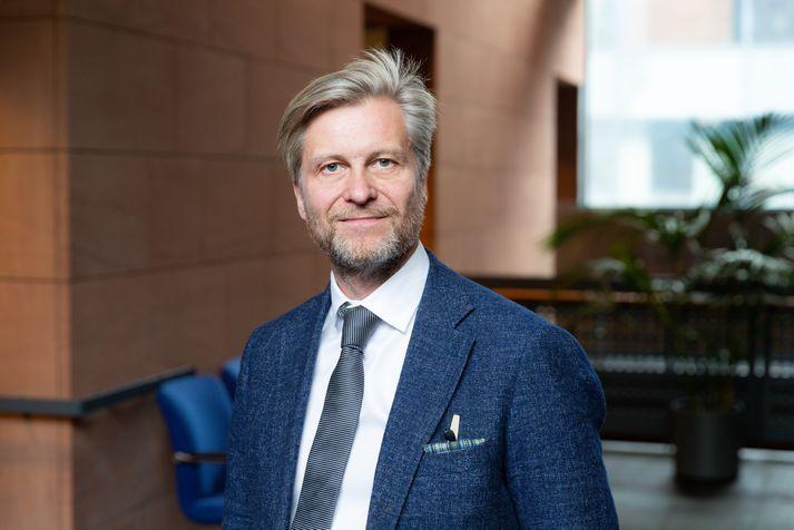 Eyþór Arnalds, oddviti sjálfstæðismanna í borgarstjórn.