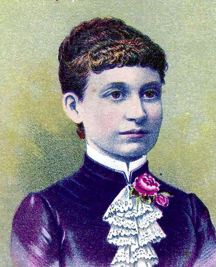 Langfrægasta uppfinning Tabithu Babbitt er hjólsögin – eða öllu heldur hjólsagarblaðið.