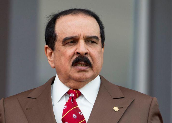 Konungur Barein, Hamad bin Isa Al Khalifa.