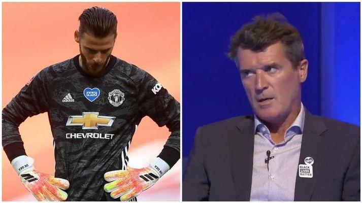 Roy Keane er ekki aðdáandi David De Gea, svo vægt sé tekið til orða.