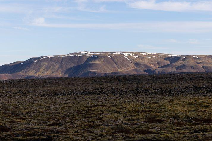 Upptök skjálftans voru rétt fyrir norðan Fagradalsfjall á Reykjanesskaga.