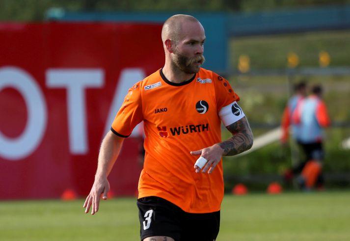 Ásgeir Börkur Ásgeirsson, fyrirliði Fylkis.