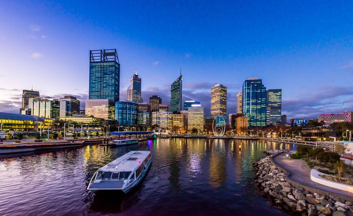 Frá Perth í Vestur-Ástralíu.