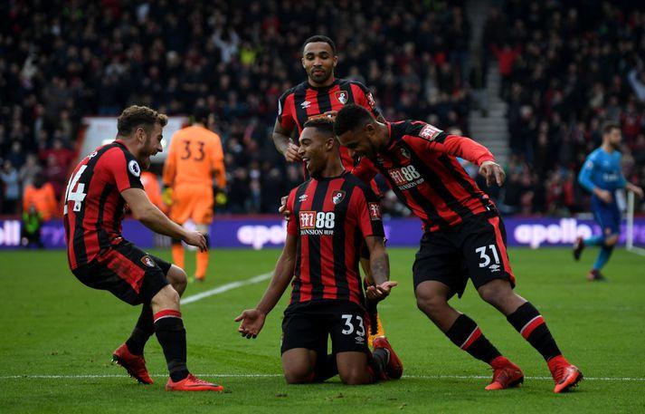Fyrsti sigur Bournemouth á Arsenal í sögunni staðreynd