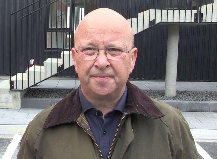 Gylfi Gíslason, sem er framkvæmdastjóri Jáverks á Selfossi. Fyrirtækið er með um 130 starfsmenn í vinnu.