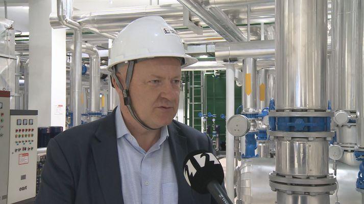Sigsteinn Grétarsson, forstjóri Arctic Green Energy.